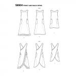 Naiste hõlmikpõll, suurused: A (XS-S-M-L-XL), Simplicity Pattern #S8904