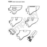 Koerariided komes suuruses, suurused: A (S-M-L), Simplicity Pattern #1239