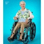 Täiskasvanute riietus, kaitsepõlled, Simplicity Pattern #2687