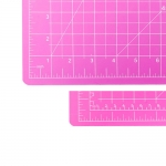 Cutting Mat 45cm x 60cm, blue/pink, SewMate DW-12122(AC)
