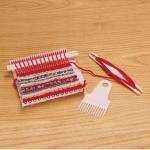Weaving loom, knitters loom, weaving looms finished size 12 x 12(25) cm, Clover 3176, 3177 3176