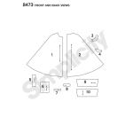 Naistekeebid disainihäki võimalustega, suurused: A (XS-S-M-L-XL) Simplicity Pattern #8473