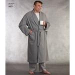 Naiste ja meeste hommikumantlid ja püksid, Simplicity Pattern # 8804