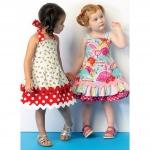 Toddlers` Dresses, Kwik Sew K0175