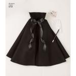 Laste keepidega kostüümid, suurused: A (S-M-L), Simplicity Pattern #8729