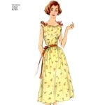 Preilide vintage öösärgid, suurused: A (XS-S-M-L-XL), Simplicity Pattern # 8799