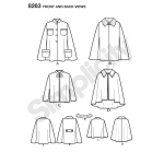 Women`s Capes and Capelets, Sizes: A (XS-S-M-L-XL), Simplicity Pattern #8263
