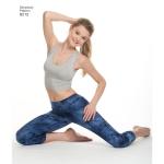 Naiste trikoo retuusid, suurused: A (XXS-XS-S-M-L-XL-XXL), Simplicity Pattern #8212