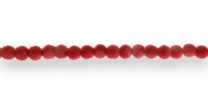 CC1 4mm Punane Sametkattega helmes