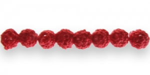 CB31 10mm Punane heelgeldatud kattega helmes