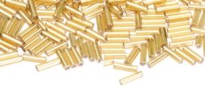 DA14 7mm Kuldne toruhelmes