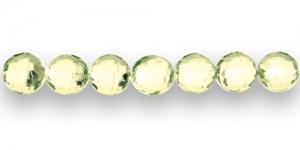 AD27 10mm Sidrunikollane läbipaistev tahuline akrü