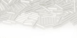 DN37 7mm Värvitu läbipaistev AB- kattega toruhelmes