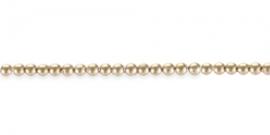 BQ14 3mm Kuldne matt läbipaistmatu plasthelmes