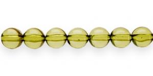 AP18 10mm Oliiviroheline läbipaistev akrüülhelmes