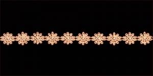 Lillepael laiusega 1,3cm / Värv Hele virsikuroosa 92