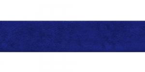 Sinine kunst seemisnahk diagonaalkant / 30mm, `Antelina` / Värv 28