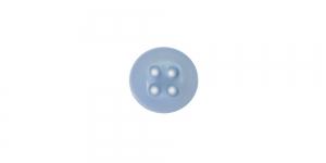 SO1 ø9 mm Helesinine, nelja auguga plastiknööp