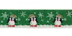 Jõulupael pingviinidega laiusega 30mm, värv 4, PG 201B