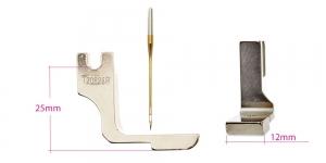 Kõrge kruvikinnitusega (tööstusliku õmblusmasina standard) 12 mm, KL0839