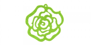 Roheline puitdetail, 25 x 2mm, IO170