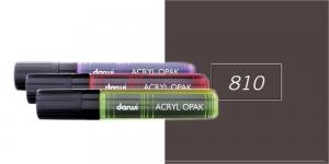 Akrüülvärviga viltpliiats, katva värviga, 15mm, 25ml, Darwi Acryl Opaque, COCOA 810