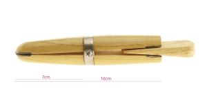 Puidust käsikruustangid 16 cm, KL1637, TB11