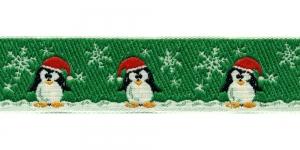 Jõulupael pingviinidega laiusega 30mm, värv 6, PG 201B