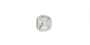 Hõbetatud ümar pärlipidur/helmes / 2,5mm / JFC2S-1Z