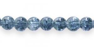 KE40 8mm Tume hallikassinine läbipaistev mõraline klaashelmes
