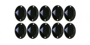 8x6mm Mustad, ovaalsed õmmeldavad kristallid 10tk WM18