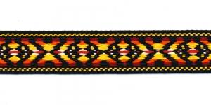 Rahvusliku ornamendiga/ Lace 3cm; Mustakirju 9439730