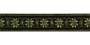 Lilleõitega dekoratiivpael, laiusega 26 mm, värv 1, Art. 4070L