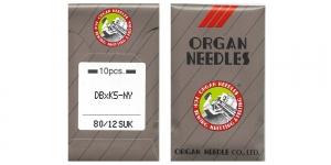 Proffessionaalse tikkimismasina nõel trikookangastele, 10 tk/ Organ DBxK5 SUK Nr.80 (Size.12) SU F1K