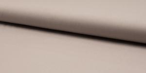 Ühevärviline õrn puuvillane kangas (Popliin), 143cm-148cm, RS0150-253, tumedam hallikasbeež