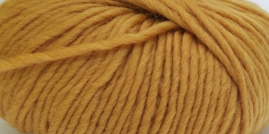 Souflé Twist Wool Yarn; Colour 11 (Ochre), Austermann