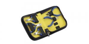 5-osaline minitangide komplekt mugavas lukuga pinalitüüpi kotis, Beadalon 203K-050
