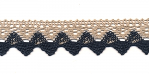 Cotton Crochet Lace 3707-N3, 4 cm