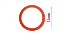 UA10, Plastrõngas nn. rinnahoidja rõngas, ø13mm, värv: puhas punane