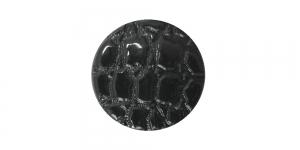 SG127 20 mm Must reljeefsemustriline nööp