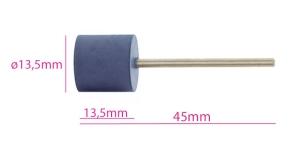 Ku mmist lihvimisketas, abrasiivketas, kuju: silinder, abrasiivne, sinine KL0971, TM8-2