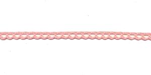Puuvillane pits 3840-06 laiusega 1 cm, värv heleroosa