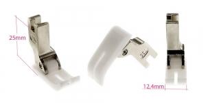 Kõrge kruvikinnitusega (tööstusliku õmblusmasina standard) teflontald, joonõmblustald, 12,4 mm lai KL0805