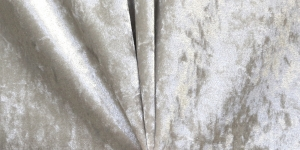 Veniv sametkangas (veluur), helehall, MR1031-052