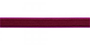 Sametpael laiusega 10mm Art.3276R / Värv Nr.163 Lillakas veinipunane