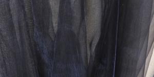 Must organza laiusega 150cm Art.4130-11