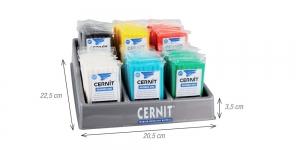 Tühi müügistend Cernit, plastmass, 6 värvi x 6 tk EMB718000004