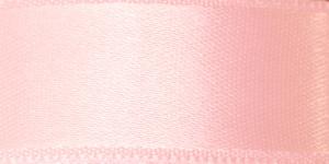 Kahepoolne luksuslik atlaspael laiusega 20mm / Art.2468 / Double Sided Satin Ribbon / värv nr.540 Heleroosa