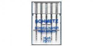 F3 Kiirõmblusnõel koduõmblusmasinatele, Schmetz HL×5, Nr.75
