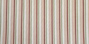 140cm Linahall, rohelise-, roosa-, punasekirju mustriga puuvillasegu kangas, 195121